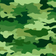 Green Camouflage Print Background - Foto Stock