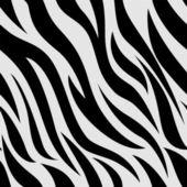 斑马动物打印背景 — 图库照片