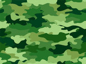 Green Camouflage Print Background — Stock Photo