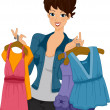Shopper Girl - Stock Photo