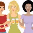 Beer Girls - Foto de Stock