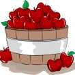 Apple Bucket - Foto de Stock