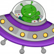 Alien Spaceship - Foto de Stock