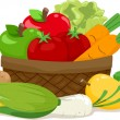Fruits and Vegetables - Foto Stock