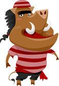 野猪海盗 — 图库照片