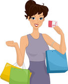 Shopping Discount — Foto Stock