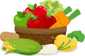 Fruits and Vegetables — Foto de Stock