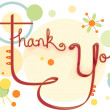 Thank You Card — Foto Stock #23303976