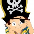Pirate Boy Birthday — Stock Photo