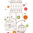 Bird Cages Design — Stock Photo