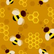Bees Background — Stock Photo