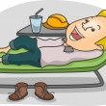 Man Relaxing — Stock Photo