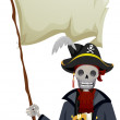 Stock Photo: Pirate Flag