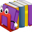 Mascot Bookend - Stockfoto
