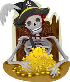 Pirate Gold — Stock Photo
