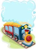 Locomotive Train Toy — Stock Photo