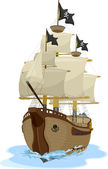 Pirate Ship 2 — Stock Photo