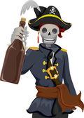 Pirate Rhum — Stock Photo