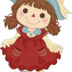 Toy Rag Doll — Stock Photo #26419799