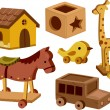 Wooden Toys — Stock Photo #26419803