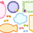 Cute Frames — Stockfoto