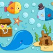 Stock Photo: Underwater Design Elements