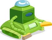 Robot Cleaner — Stock Photo