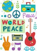 Peace Design Elements — Stock Photo