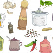 Stock Photo: Spices and Condiments