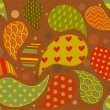 Seamless Paisley Pattern — Stock Photo
