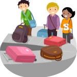 Постер, плакат: Airport Luggage Carousel