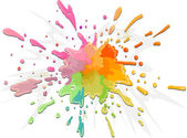 Color Splat — Stock Photo