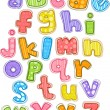 Colorful Alphabet — Stock Photo