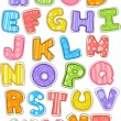 Colorful Alphabet — Foto de Stock