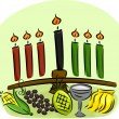 Kwanzaa Elements — Stock Photo