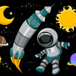 Stock Photo: Outer Space Design Elements
