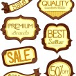Store Product Labels 3 — Stock Photo