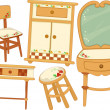 Country Furnitures — Stok fotoğraf