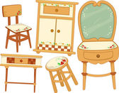 Country Furnitures — Stock Photo