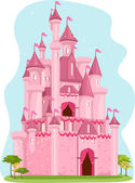 Pink Castle — Stock Photo