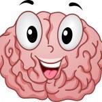 Strong Brain Mascot — Stock Photo