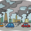 Stock Photo: Air Pollution