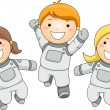 Kid Astronauts — Stock Photo #32059079