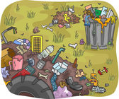 Waste Dump — Stock Photo