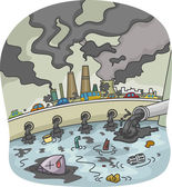 Pollution — Stock Photo