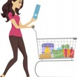 Grocery Girl — Stockfoto #39461273