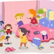 Stock Photo: Girls Room