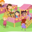 StickmGirls Playhouse — Stock Photo #39461955