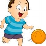 Basketball Boy — Stock Photo