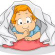 Blanket Boy — Stock Photo #39463995